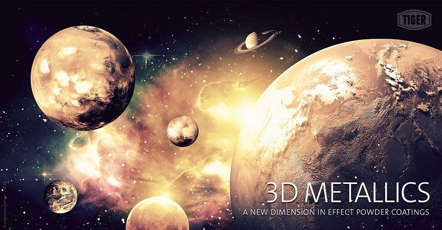 3D Metalik barve TIGER